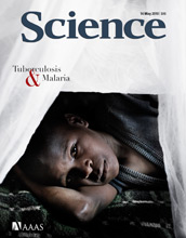 Cover of May 14, 2010 issue of the journal Science.