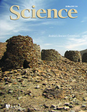 Cover of the May 28, 2010 issue of the journal Science.