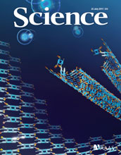 cover of the journal Science