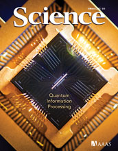 cover of Science magazine