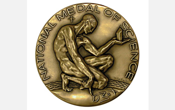 Photo of National Medal of Science.