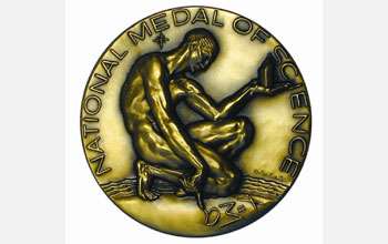 Image of the National Medal of Science, the highest scientific honor bestowed by the U.S. President.
