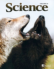 Cover of March 6, 2009 issue of Science magazine