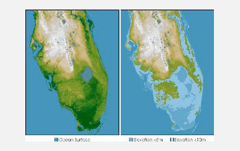 Mormon Discussions View Topic How To End The Climate Debate - Florida sea level rise map