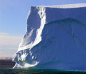 Photo of an iceberg in East Greenland.