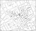 Original London map made by John Snow in 1854 showing Cholera cases highlighted in black.
