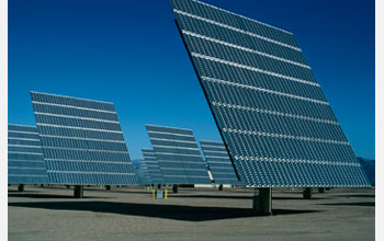 Photo of solar panels