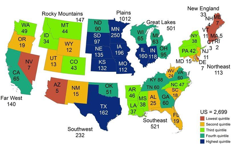 Avian Influenza Risk Songbirds Mapped USA Avian Flu Talk