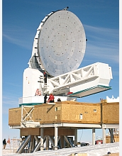 Photo of South Pole Telescope