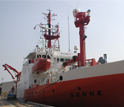 Image of the German Research Vessel (RV) Sonne