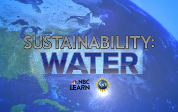 Sustainability water video series logo