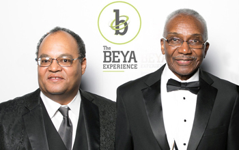 Tyrone Taborn & Eugene DeLoatch, 2019 NSB Public Service Award recipients