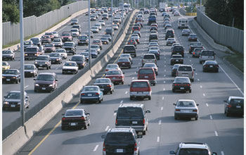 Photo of heavy traffic