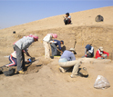 University of Chicago lead researcher Gil Stein discusses the mound of Tell Zeidan.