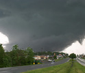 Image of a strong tornado near Arab, Alabama, part of the outbreak on April 27, 2011.