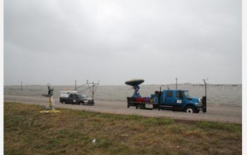 Photo of a Doppler-on-Wheels.