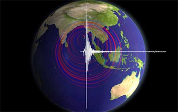 The December 2004 tsunami-producing earthquake sent reverberations around the world.