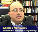 Charles Meneveau and Raul Cal describe their wind tunnel experiments involving wind turbine arrays.