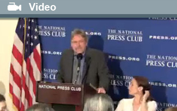Dr. Robert Twilley discusses the Gulf oil spill on World Ocean Day at the National Press Club.