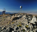 GPS station 311 in the Eastern Sierra Nevada, part of the NSF Plate Boundary Observatory.