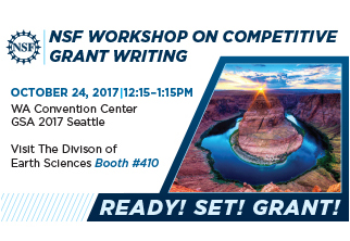 Advertisement for NSF Workshop on Competitive Grant Writing