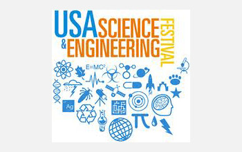 Logo of the USA Science and Engineering Expo.