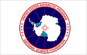 The U.S. Antarctic Program logo.