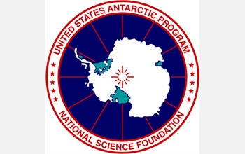 Logo for the U.S. Antarctic Program - National Science Foundation.