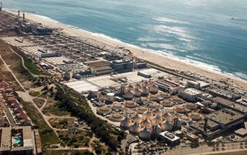 The Hyperion Water Reclamation Plant on Santa Monica Bay
