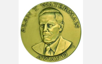 Photo of the Alan T. Waterman Award Medal.