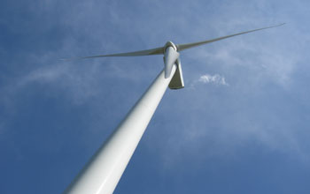 Image of a wind turbine.
