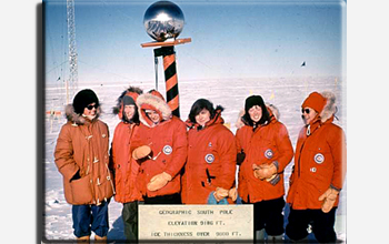 On 12 November 1969, the first six women set foot at the South Pole.