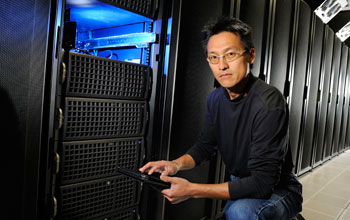 Wu Feng, associate professor of computer science at Virginia Tech.
