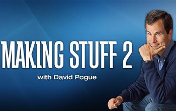 David Pogue, host of Making Stuff 2