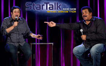 Neil degrasse Tyson and Eugene Mirman live at the BellHouse in Brooklyn