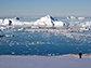Icebergs in the Amundsen Sea