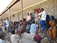 translators explain a research project on African population genetics to the Argobba population, Ethiopia