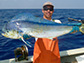 Kevin Weng with a dolphinfish