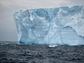 the exposed portion of an iceberg