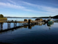 the dock at Friday Harbor Labs