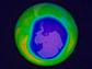 a simulation of the Antarctic ozone hole