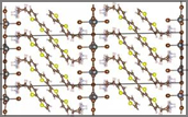 molecular structure of the layered hybrid perovskite