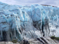 a photo of the edge of the Greenland ice sheet