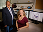 Illinois researchers Praveen Kumar and graduate student Susana Roque-Malo