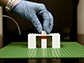 a researcher builds a platform for a system of fluidic bricks