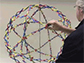a Hoberman sphere