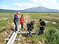 researchers bored deep into the Earth to measure peat composition