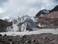 the Puca Glacier in Peru