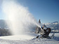 snowmaking cannon