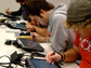 image of students using tablet PCs